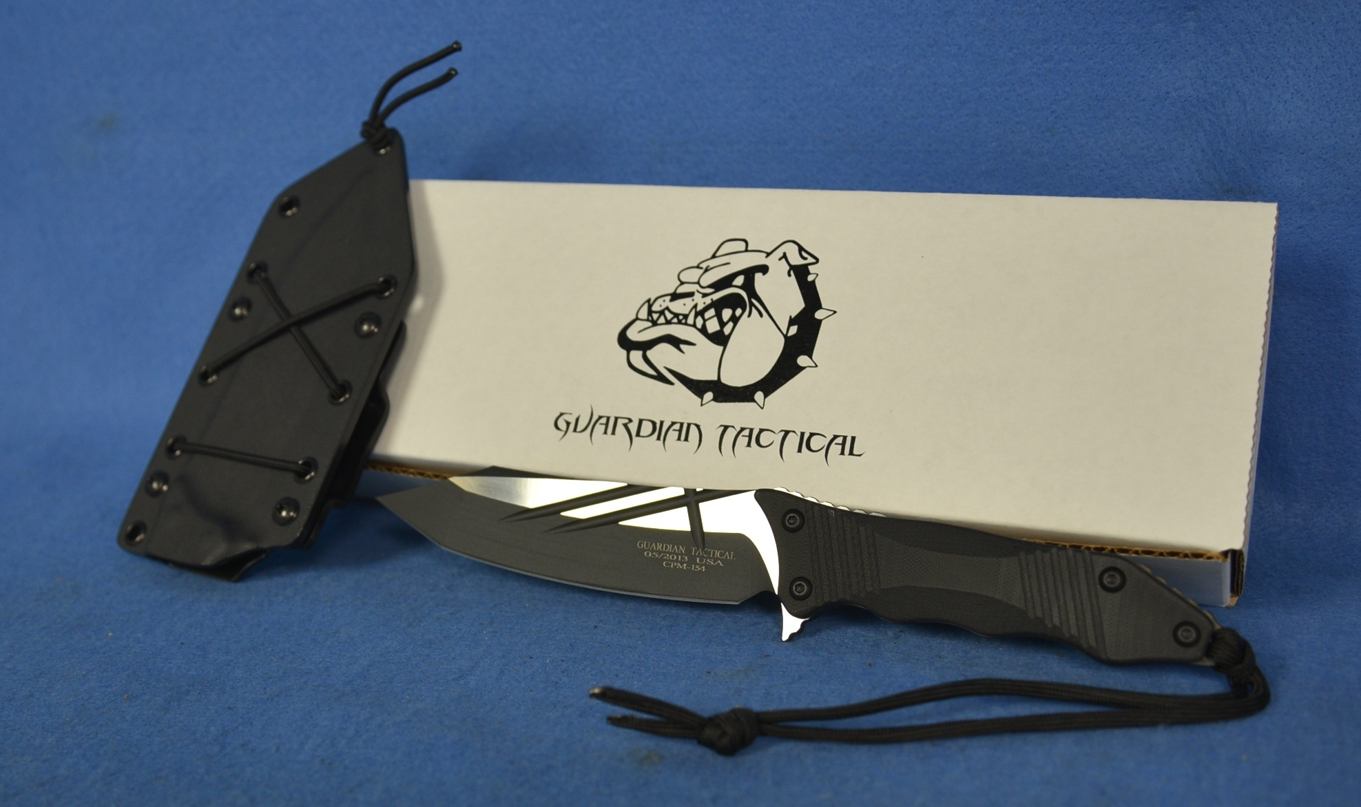 Guardian Tactical Patron Two Tone Fixed Blade