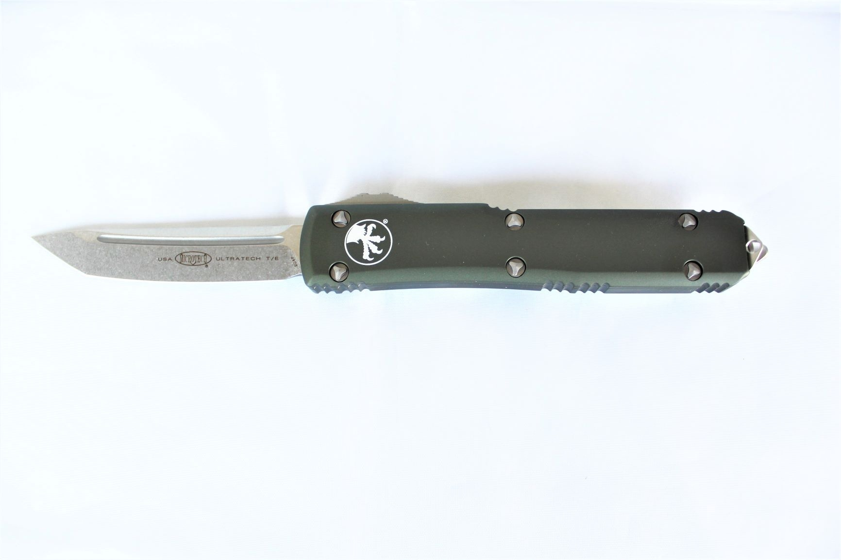 Microtech T/E Ultratech SW with OD Green Handles