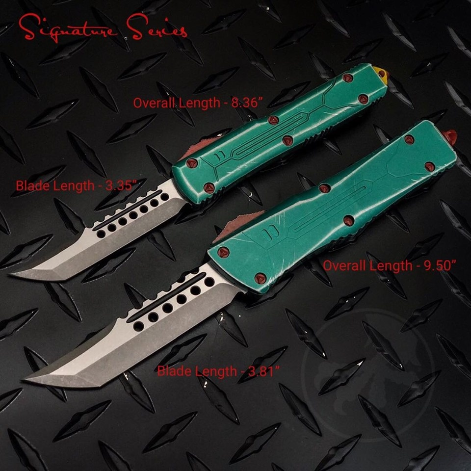 Microtech Combat Troodon Hellhound  Bounty Hunter