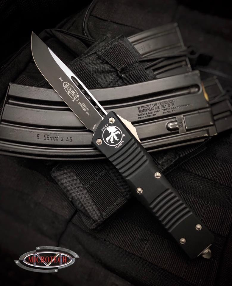 Microtech Combat Troodon S/E Black Standard