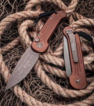 Microtech LUDT Apocalyptic Tan