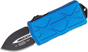 Microtech Exocet Black Standard Blue
