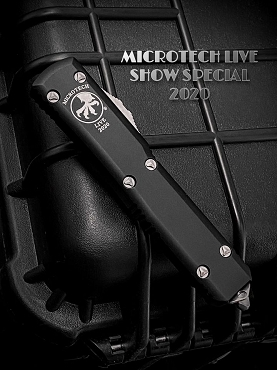 Microtech 2020 Live Show Special D/E Ultratech Stonewashed