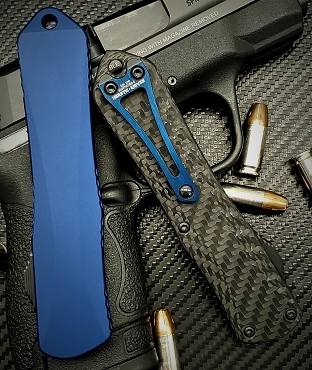 Heretic Manticore E - T/E DLC Carbon Fiber/Blue