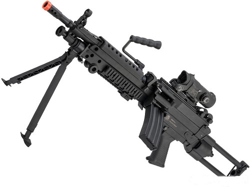 Cybergun FN Licensed M249 Para Featherweight Airsoft Machine Gun