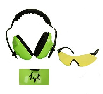 Bone Collector Eye and Ear Protection