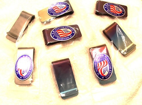 Reese Weiland Custom Titanium Money Clips